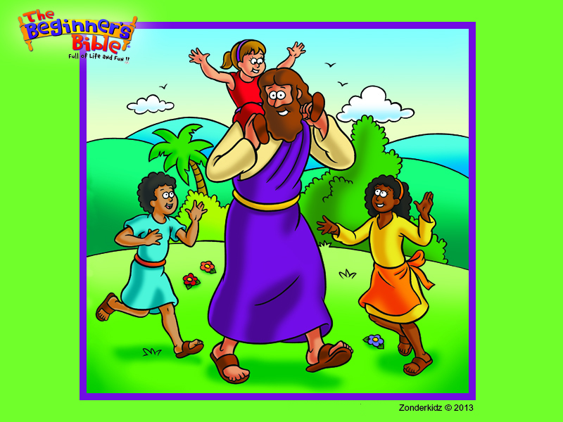 Beginners Bible Coloring Pages